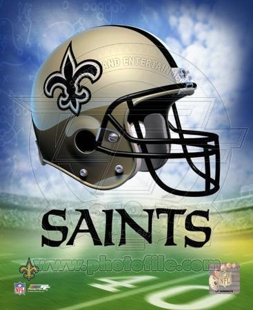 New Orleans Saints Helmet Logo ©Photofile