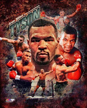 Mike Tyson 2013 Portrait Plus