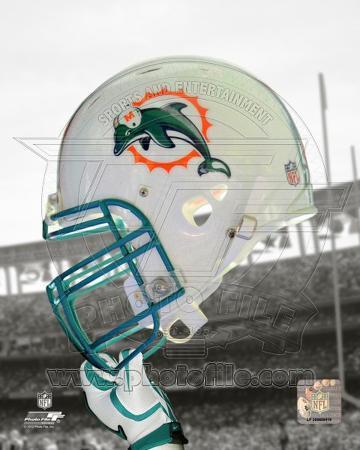 Miami Dolphins Helmet Spotlight