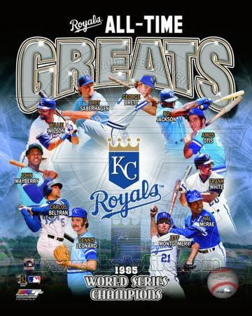 Kansas City Royals All Time Greats Composite