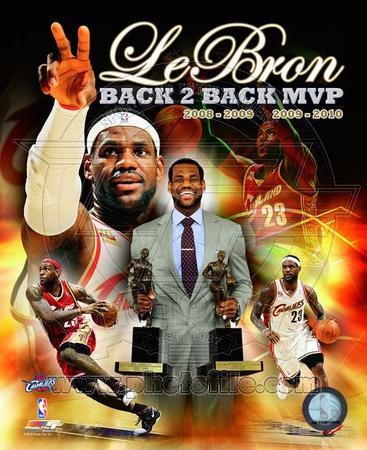 Lebron James Back 2 Back MVP