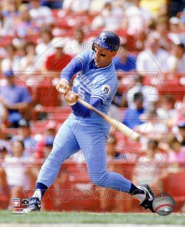George Brett - 1990 Batting Action