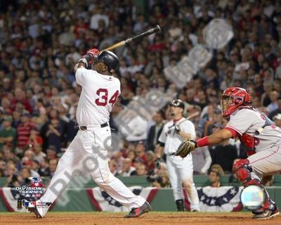 David Ortiz hitting game 3 and 2004 ALDS winning HR against Anaheim Angels