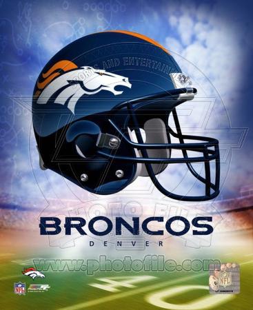 NFL Denver Broncos Helmet Logo ?Photofile