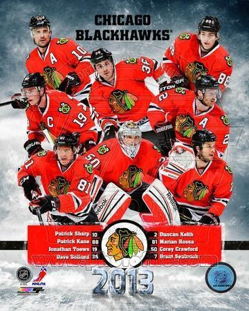 Chicago Blackhawks 2012-13 Team Composite
