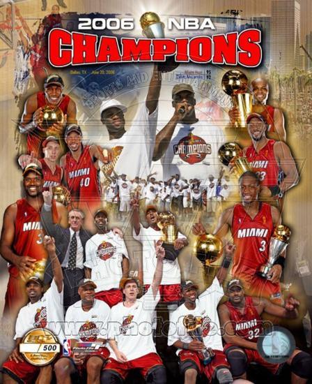 the best attitude d21bf f6b45 2006 - Miami Heat NBA Champions