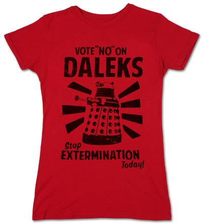 Juniors: Doctor Who - Vote No On Daleks