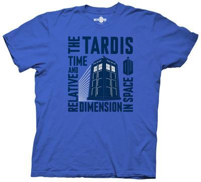 Doctor Who - Tardis Time Relative Space