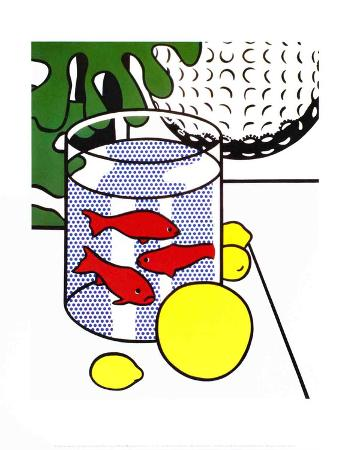 Still Life with Goldfish Bowl