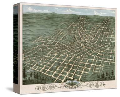 Bird's Eye View of the City of Atlanta, Georgia, 1871