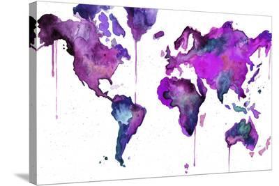 Watercolor Map No. 8