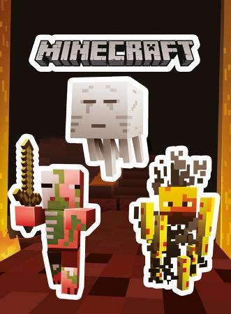 Minecraft - Mobs Nether Sticker Pack