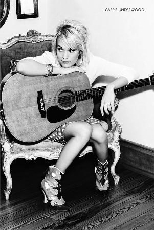 Carrie Underwood B/W