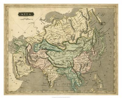 Thomson's Map of Asia