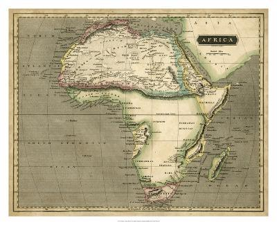 Thomson's Map of Africa