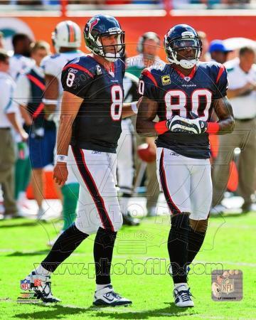 Houston Texans - Andre Johnson, Matt Schaub Photo