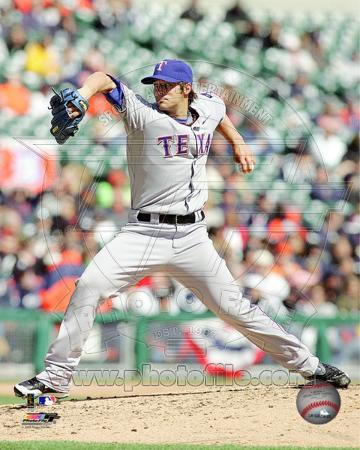 Texas Rangers - C.J. Wilson Photo