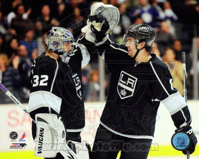 Los Angeles Kings - Drew Doughty, Jonathan Quick Photo