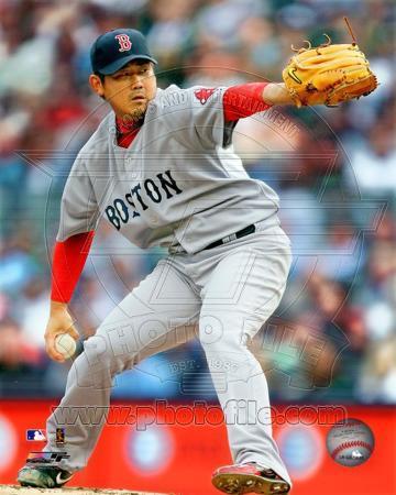 Boston Red Sox - Daisuke Matsuzaka Photo