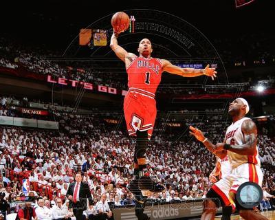 Chicago Bulls - Derrick Rose Photo