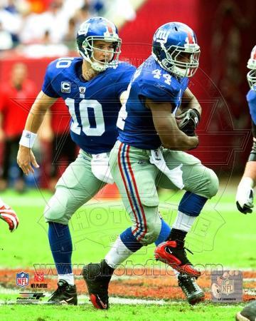 New York Giants - Eli Manning, Ahmad Bradshaw Photo