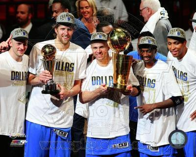 Dallas Mavericks - Jason Kidd, Dirk Nowitzki, Jason Terry, Shawn Marion, Brian Cardinal Photo
