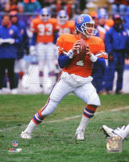 9fd34c08 Denver Broncos - John Elway Photo