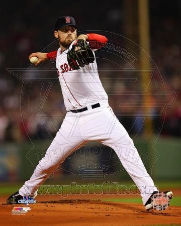 Boston Red Sox - John Lackey Photo
