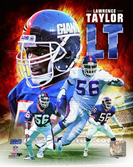 meet b6142 d8567 New York Giants - Lawrence Taylor Photo