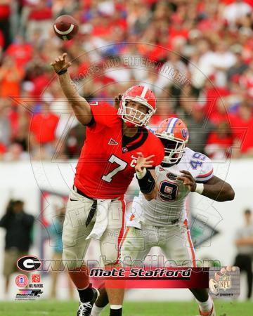 Georgia Bulldogs - Matthew Stafford Photo