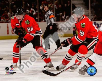 Chicago Blackhawks - Jonathan Toews, Patrick Kane Photo