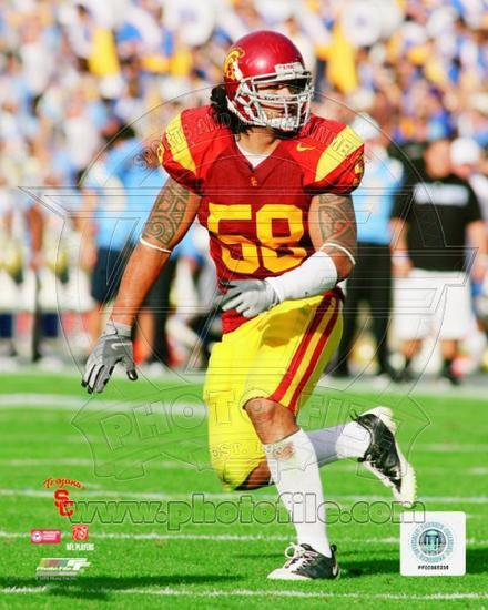 cheap for discount 7f980 01212 USC Trojans - Rey Maualuga Photo