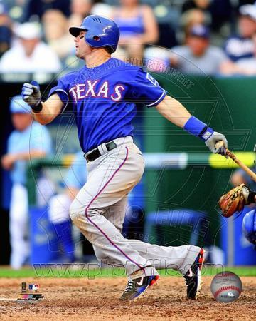 Texas Rangers - Michael Young Photo