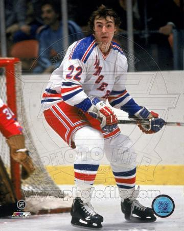 New York Rangers - Nick Fotiu Photo