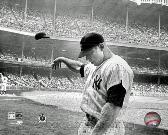 New York Yankees Mickey Mantle Photo Photo At Allposters Com