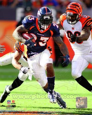 Denver Broncos - Willis McGahee Photo