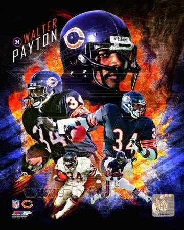 Chicago Bears - Walter Payton Photo