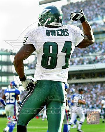 Philadelphia Eagles - Terrell Owens Photo