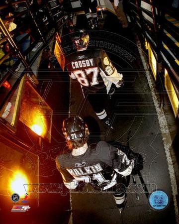 Pittsburgh Penguins - Sidney Crosby, Evgeni Malkin Photo