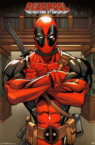 Deadpool Marvel Prints At Allposters Com