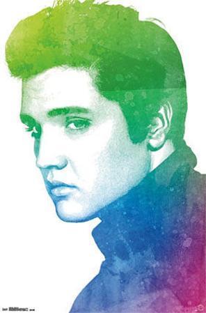 Elvis Presley Watercolor