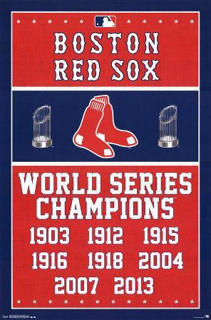 Boston Red Sox World Series Champions