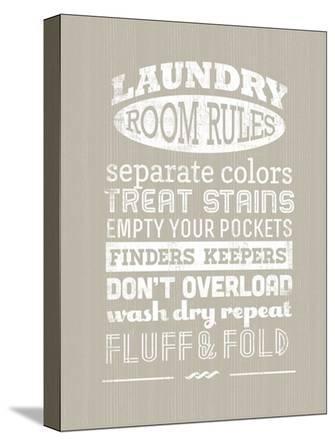 Laundry Room Rules I