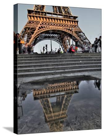 Rain Puddle Reflections Paris