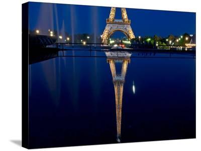 Reflected Eiffel Paris