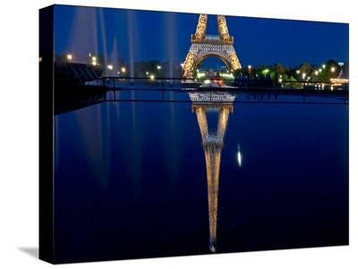 Reflected Eiffel Paris