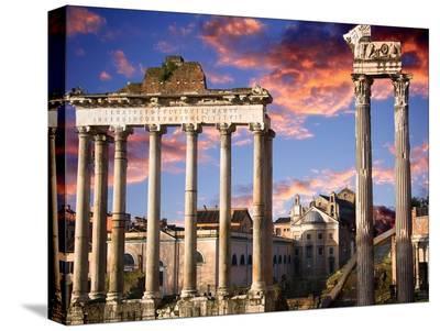 Roman Forum on Fire