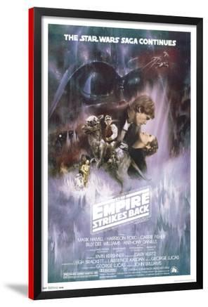 Star Wars: The Empire Strikes Back - The Saga Continues Movie Poster