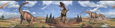 Dinosaurs Peel & Stick Border Wall Decal