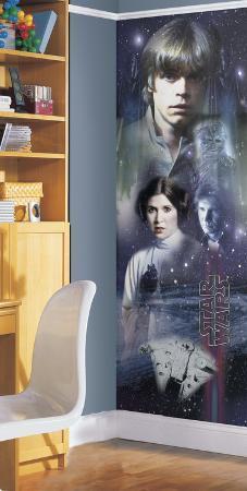 Star Wars Classic Cast Peel & Stick Panel